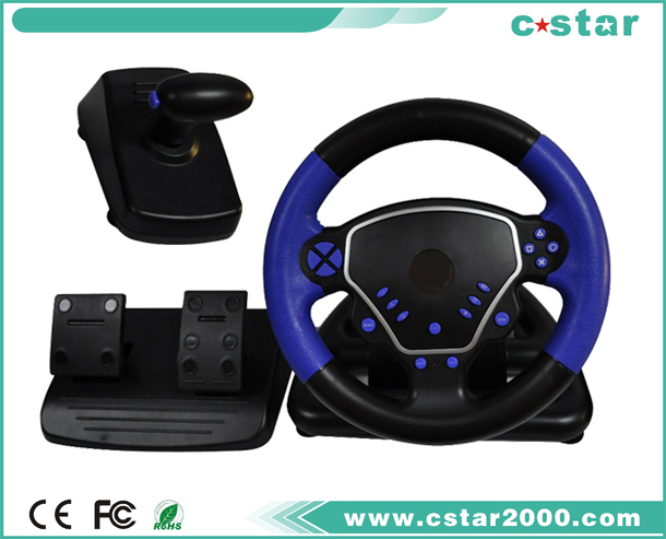 Mini Steering Wheel For PS2/PS3/PC USB