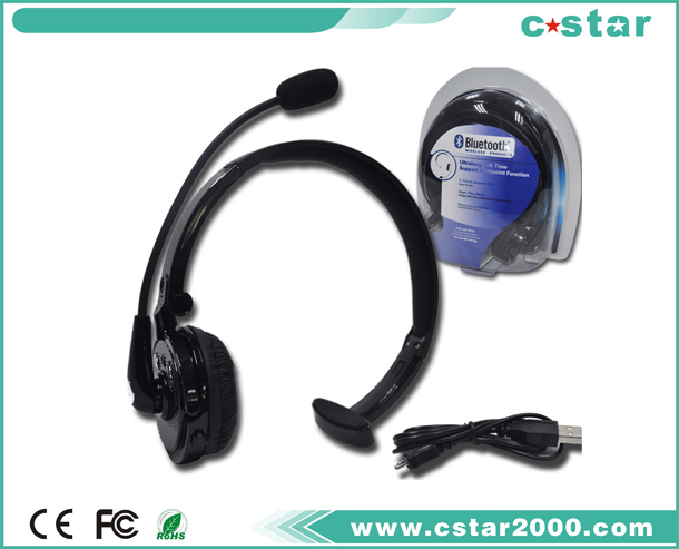 Head-wearing Bluetooth Headset for PS3