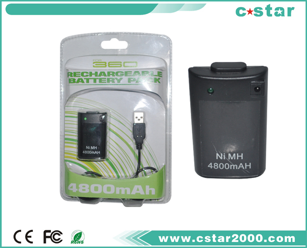 Rechargeable Battery Pack for XBOX 360