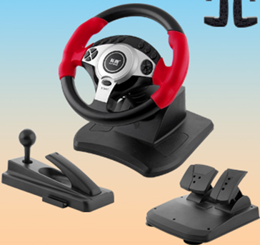 3in1 900 Degree steering wheel for PS2,PS3,USB.NS9890
