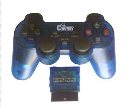 2.4GHz wireless gamepad for PS2