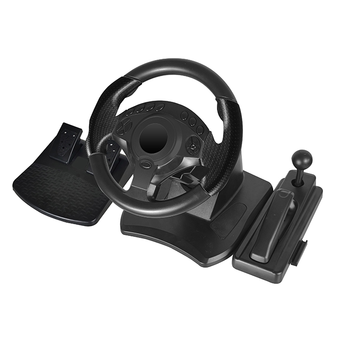 NS-9877 Multi-platform Game Steering wheel
